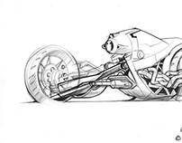 1998 Transformers sketch work