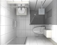 02/2017 Interior Design Bathrooms And Vray 3D Model