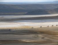 Dry valley Magadi