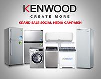 Kenwood Appliances (Sale Promotion Campaign)