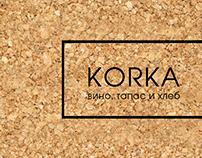 """Дизайн-проект винного бара """"KORKA"""""""