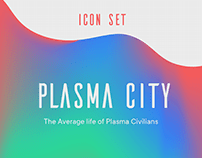 Plasma City - Iconography