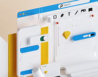 SDMK web design - 3D