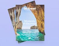 EF Go Ahead | Print Pieces