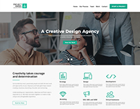 Project Angel Creative Agency Mockup