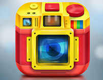 3D Camera IOS Icon