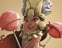 Personaje (dama de caCAO)