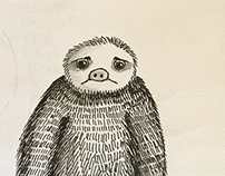 Illustrating a Poem - Admissions of a Sloth