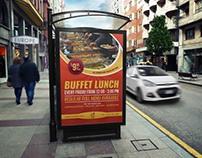 Restaurant Poster Template Vol.9