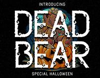 Dead Bear Display Font