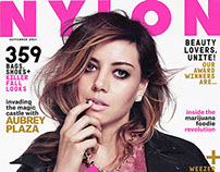 NYLON magazine, Aubrey Plaza cover