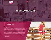 Fem website- concept