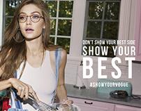 Vogue Eyewear - #ShowYourVogue