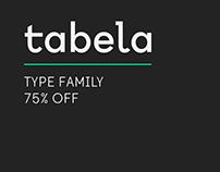Tabela typefamily