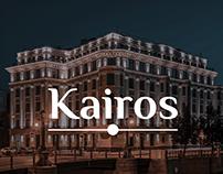 Kairos — web design for luxury real estate.
