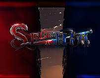 Sethia - login interface, logo, fb background