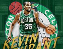 Kevin Durant Jersey Swap/Design-Celtics