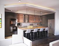 Calgary Infill Interior - Main Floor