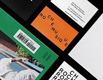 Roche Musique Record—Brand Identity