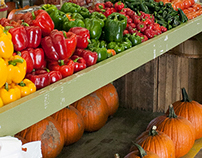 Peppers and Pumpkins
