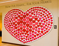 Bethesda Heart Hospital Donor Recognition Wall