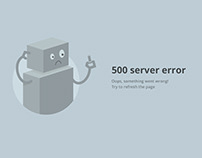 Custom 500 error page