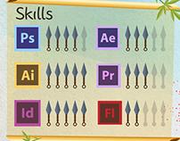Infographic CV - 2014
