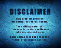 "Investigative Discovery's ""Ice Cold Killers"" Disclaimer"