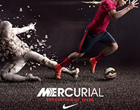Nike Mercurial Soccer Retail Campaign
