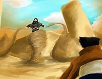 Sooraya (Dust) vs Wolverine