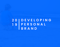 Case Study: Developing Personal Brand 2019