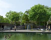 Liget Budapest landscape design competition