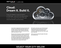 SoftLayer Cloud: Dream It, Build It. Campaign