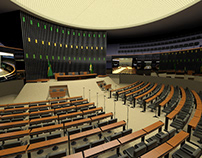 Chamber of Deputies of Brazil / 3D Scenery