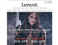 Email Marketing Creation - Women fashion brand