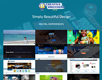 Creative Bros Design website