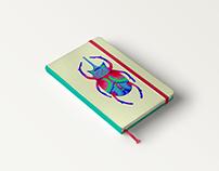 Ilustración escarabajo