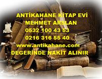 ARNAVURKÖY ESKİ KİTAP ALANLAR 0532 100 43 53 SAHAF