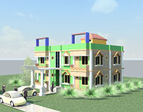 3D Rendering Project Old 2012 (No effect No edit)