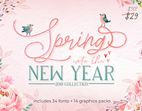 Spring into The New Year Collection