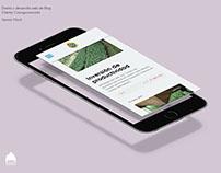 Diseño y desarrollo web del Blog de Cooagronevada