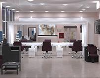 Редизайн существующего салона красоты в г.Краснодар