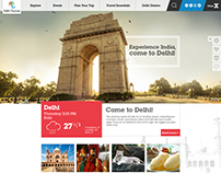 delhi tourism website