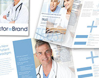 Doctor = Brand   Brochure Design