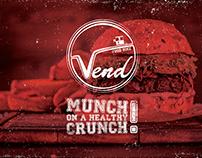 Vend Food Bike | Logo Design & Packaging Design