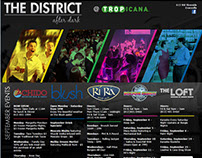 The District: After Dark Website