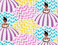 Ala das Baianas / Pattern