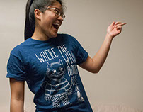 T-SHIRT - Where the Wild DONS Are - Conrad Grebel