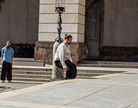 Parkour at Christiansborg