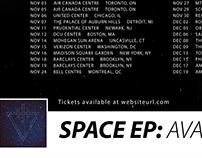 Tour Poster Mock Ups